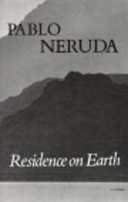 Residence on Earth and Other Poems (English…