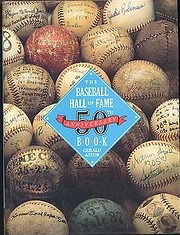 Baseball Hall of Fame 50th Anniversary Book…