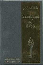Saraband of Sable de John Gale