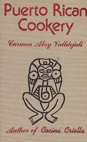 Puerto Rican cookery de Carmen Aboy…