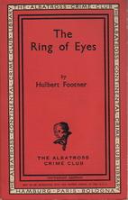 The ring of eyes by Hulbert Footner