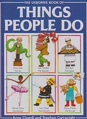 Things People Do av Anne Civardi