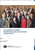 The contribution of UNIDO to United Nations…