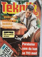 Teknik för Alla Nr 1 1989 por Arne Eriksson…