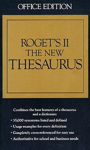 Roget's II the New Thesaurus af Houghton…