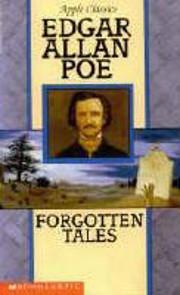Forgotten Tales von Edgar Allan Poe