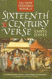 The New Oxford Book of Sixteenth-Century…