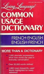 Living Language Common Usage Dictionary:…