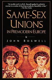 Same-Sex Unions in Premodern Europe…