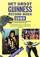 Guinness Record Boek 1989
