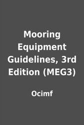 Mooring Equipment Guidelines Pdf