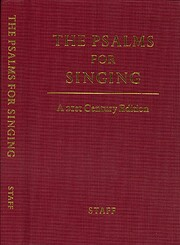 Psalms for Singing, The: A 21st Century…