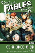 The Great Fables Crossover #7 by Bill…
