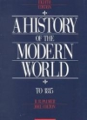 A History of the Modern World por R. R.…