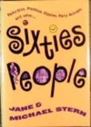 Sixties people av Jane Stern