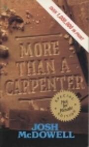 More Than a Carpenter af Josh McDowell