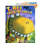 T. Rex Trick-or-Treats af Lois Grambling