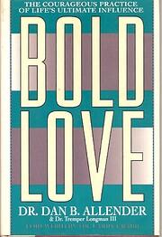 Bold Love de Dan B Allender