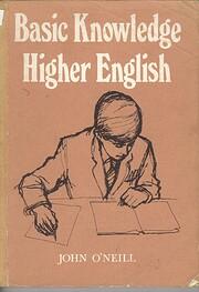Basic Knowledge Higher English by John…