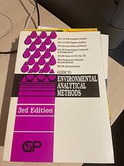 Guide to Environmental Analytical Methods de…