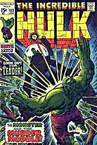 Incredible Hulk # 123 by Roy Thomas