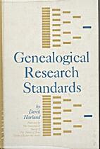 Genealogical Research Standards by Derek…