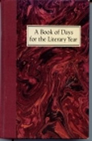 A Book of Days for the Literary Year –…