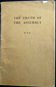 The truth of the assembly af H.F.N