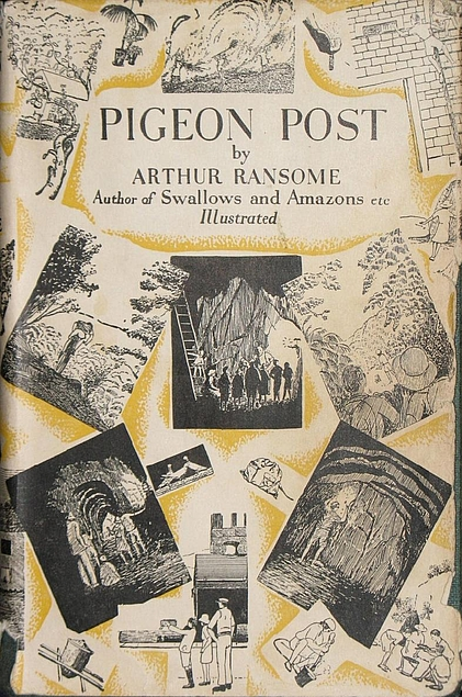 Pigeon Post cover