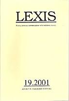 Lexis: poetica, retorica e comunicazione…