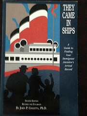 They came in ships : a guide to finding your…