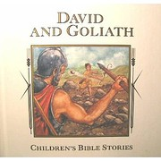 David and Goliath (Children's Bible…