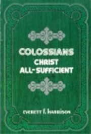 Colossians (Everyman's Bible Commentary…
