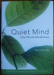 Quiet Mind: One Minute Mindfulness (For…