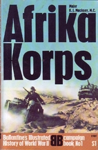 Afrika Korps by Kenneth Macksey