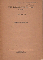 The Importance of The Ghost In Hamlet by…