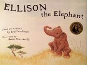 Ellison the Elephant Book & Audio CD de Eric…