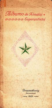 Albumo de konataj esperantistoj : dediĉata…