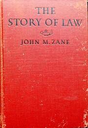 The Story of Law – tekijä: John Maxcy…