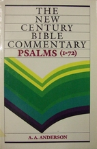 Psalms 1-72 by A. A. Anderson