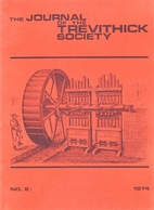 Journal of the Trevithick Society 2 by John…