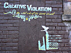Creative violation : the rebel art of the…