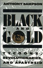Black and Gold af Anthony Sampson