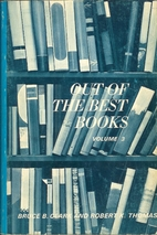 Out of the Best Books: An Anthology of…