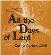 All the Days of Lent af Colane Recker