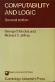 Computability and Logic 2ed de George Boolos