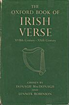 The Oxford book of Irish verse: XVIIth…