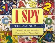 I Spy: Letters & Numbers av Jean Marzollo