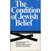 The Condition of Jewish Belief: A Symposium…
