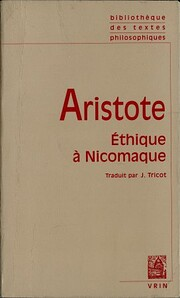 Ethique à Nicomaque av Aristote